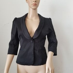 Guess 3/4 Sleeves  Cropped Blazer, XS